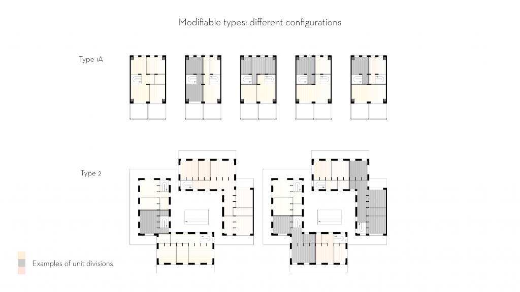Lo-fi architecture different plan options