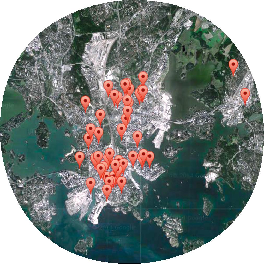 Mushrooming creative co-work spaces in Helsinki